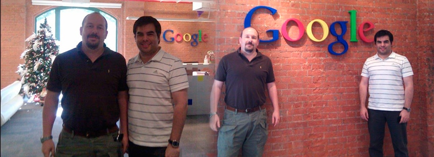 Cursos de capacitación y Webinars con Google