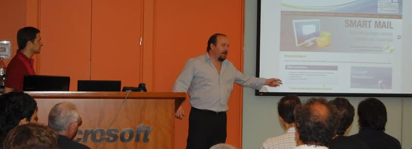 Charla informativa en Microsoft: VPS y WebSiteSpark