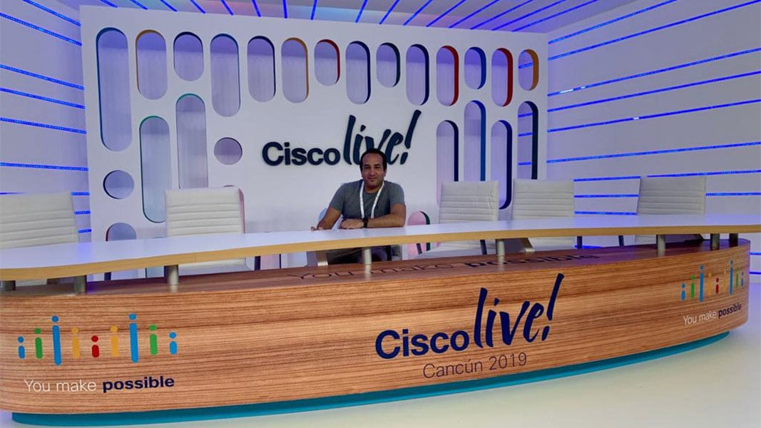Pablo Eyras Cisco Live Cancún 2019